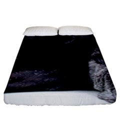 Neapolitan Mastiff Laying Fitted Sheet (king Size)