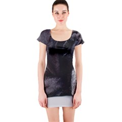 Neapolitan Mastiff Laying Short Sleeve Bodycon Dress