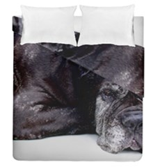 Neapolitan Mastiff Laying Duvet Cover Double Side (queen Size)