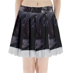 Neapolitan Mastiff Laying Pleated Mini Skirt