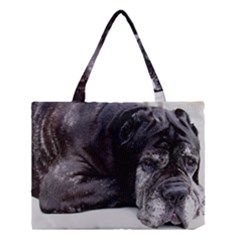 Neapolitan Mastiff Laying Medium Tote Bag