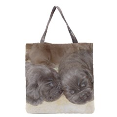 Neapolitan Pups Grocery Tote Bag