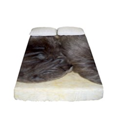 Neapolitan Pups Fitted Sheet (full/ Double Size)