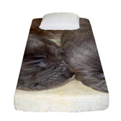 Neapolitan Pups Fitted Sheet (single Size)