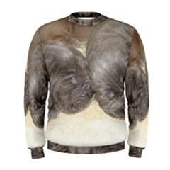 Neapolitan Pups Men s Sweatshirt
