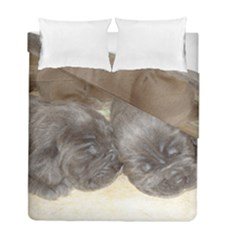 Neapolitan Pups Duvet Cover Double Side (full/ Double Size)