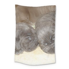 Neapolitan Pups Small Tapestry