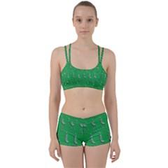 Giraffe Pattern Wallpaper Vector Women s Sports Set
