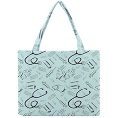 Pattern Medicine Seamless Medical Mini Tote Bag
