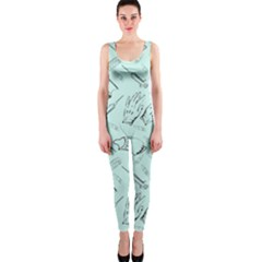 Pattern Medicine Seamless Medical Onepiece Catsuit