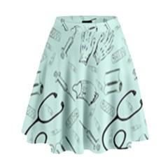 Pattern Medicine Seamless Medical High Waist Skirt
