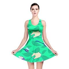 Pattern Seamless Background Desktop Reversible Skater Dress