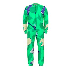 Pattern Seamless Background Desktop Onepiece Jumpsuit (kids)
