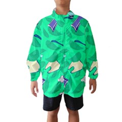 Pattern Seamless Background Desktop Wind Breaker (kids)