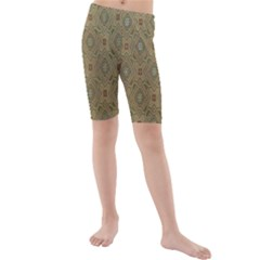 P¨|cs Hungary City Five Churches Kids  Mid Length Swim Shorts