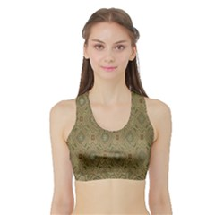 P¨|cs Hungary City Five Churches Sports Bra With Border