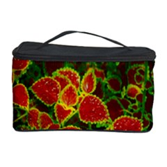 Flower Red Nature Garden Natural Cosmetic Storage Case