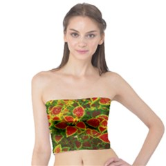 Flower Red Nature Garden Natural Tube Top