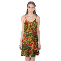 Flower Red Nature Garden Natural Camis Nightgown