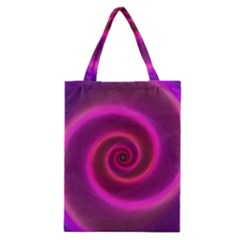 Pink Background Neon Neon Light Classic Tote Bag