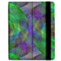 Fractal Spiral Swirl Pattern Samsung Galaxy Tab 7  P1000 Flip Case View2