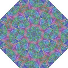 Spiral Pattern Swirl Pattern Folding Umbrellas