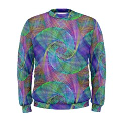 Spiral Pattern Swirl Pattern Men s Sweatshirt