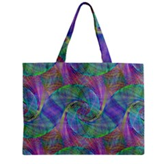 Spiral Pattern Swirl Pattern Zipper Mini Tote Bag