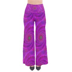Pink Abstract Background Curl Pants