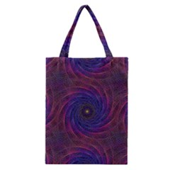 Pattern Seamless Repeat Spiral Classic Tote Bag
