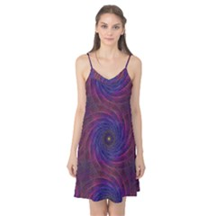 Pattern Seamless Repeat Spiral Camis Nightgown