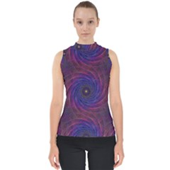 Pattern Seamless Repeat Spiral Shell Top