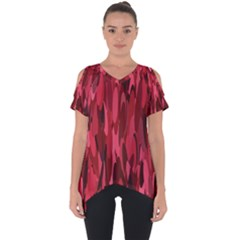 Abstract 3 Cut Out Side Drop Tee