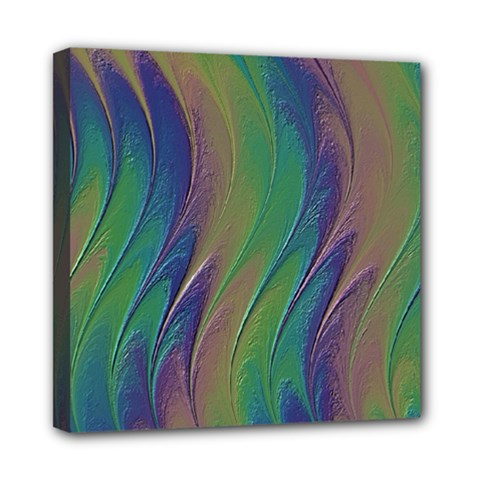 Texture Abstract Background Mini Canvas 8  X 8