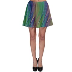 Texture Abstract Background Skater Skirt