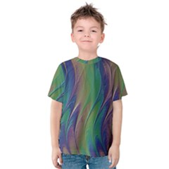 Texture Abstract Background Kids  Cotton Tee