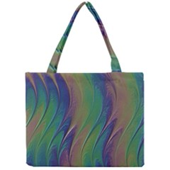 Texture Abstract Background Mini Tote Bag