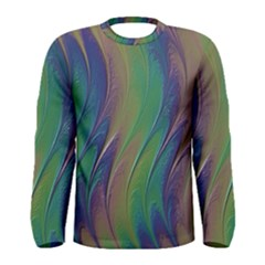 Texture Abstract Background Men s Long Sleeve Tee
