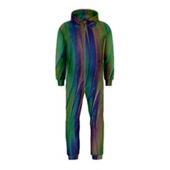 Texture Abstract Background Hooded Jumpsuit (kids)