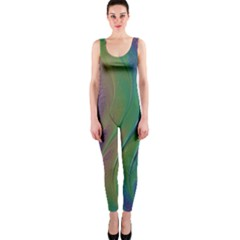 Texture Abstract Background Onepiece Catsuit