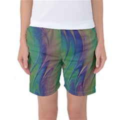 Texture Abstract Background Women s Basketball Shorts