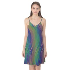 Texture Abstract Background Camis Nightgown