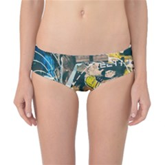 Art Graffiti Abstract Vintage Classic Bikini Bottoms