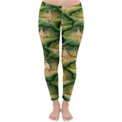 Pineapple Pattern Classic Winter Leggings