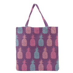 Pineapple Pattern Grocery Tote Bag