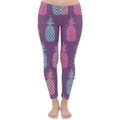 Pineapple Pattern Classic Winter Leggings