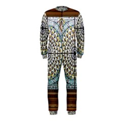 Stained Glass Window Library Of Congress Onepiece Jumpsuit (kids)
