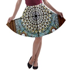 Stained Glass Window Library Of Congress A Line Skater Skirt