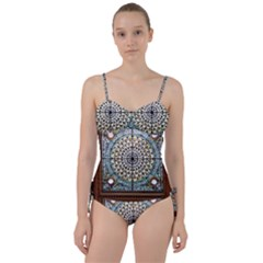 Stained Glass Window Library Of Congress Sweetheart Tankini Set