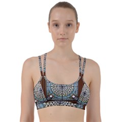 Stained Glass Window Library Of Congress Line Them Up Sports Bra